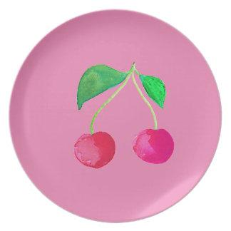 Hipster-Frucht Teller