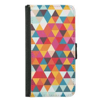 Hipster-geometrisches Dreieck-Muster - Geldbeutel Hülle Für Das Samsung Galaxy S5