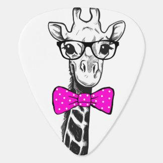 Hipster-Giraffe Plektrum