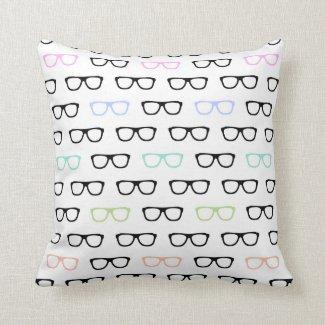 Hipster-Gläser Kissen
