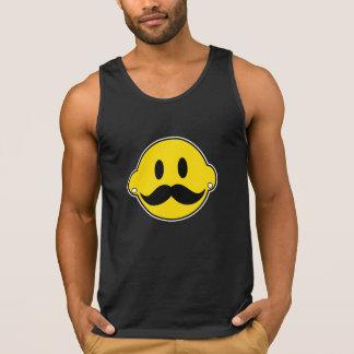 Hipster-glückliches Gesicht Tank Top