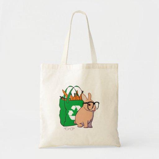Hipster-Häschen-Tasche (ohne Text)