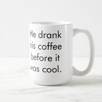 Hipster-Kaffee 2 Kaffee Tassen