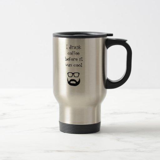 Hipster-Kaffee-Tasse