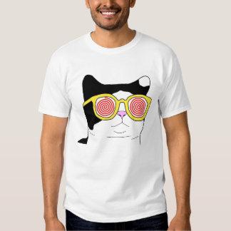 Hipster-Katze Hemden