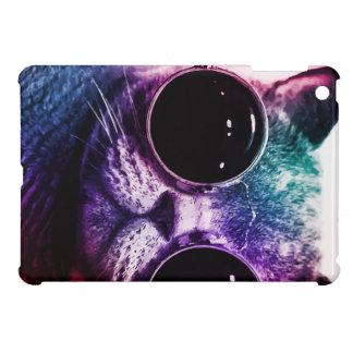 Hipster-Katzen-Pop-Kunst iPad Mini Hülle