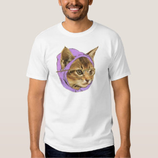 Hipster Kitty Tshirt