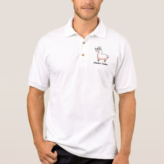 Hipster-Lama Polo Shirt