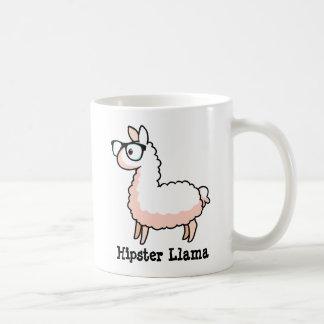 Hipster-Lama Tasse
