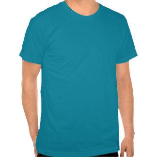 Hipster-Löwe-Blau T Shirts