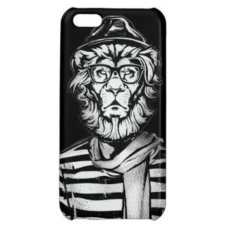 Hipster-Löwe Schwarzweiss Hüllen Für iPhone 5C