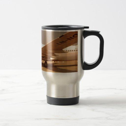 Hipster-Luft Kaffee Tasse