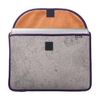Hipster-Mädchen-Schlag black&white MacBook Pro Sleeve