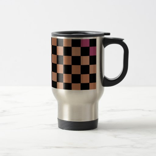 Hipster-modernes Schachbrett Tee Tassen