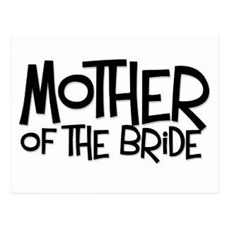 Hipster-Mutter der Braut Postkarten
