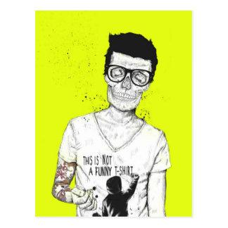 Hipster nicht absolut postkarte