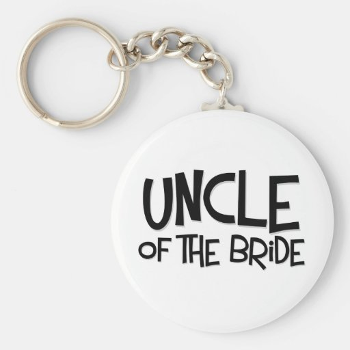 Hipster-Onkel der Braut Schlüsselband