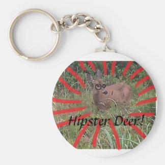Hipster-Rotwild Keychain Schlüsselband