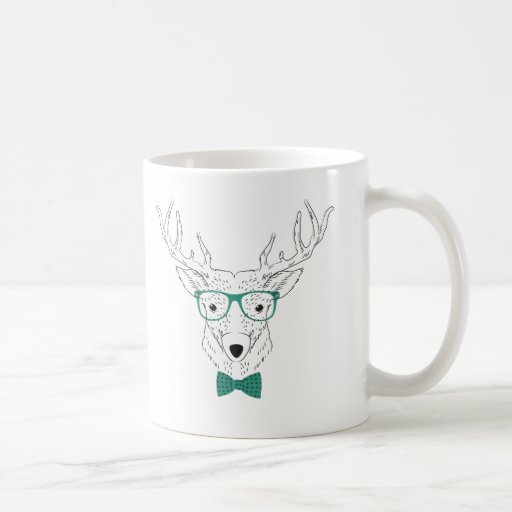Hipster-Rotwild Kaffeetassen