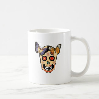 Hipster-Schädel Kaffee Tasse