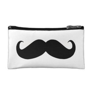 Hipster-Schnurrbart-Kosmetik-Tasche