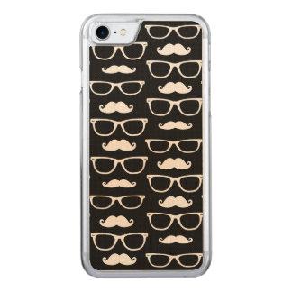 Hipster-Schnurrbart-und Carved iPhone 8/7 Hülle