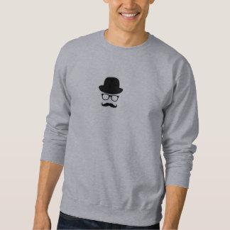Hipster-Symbol-Typ Sweatshirt