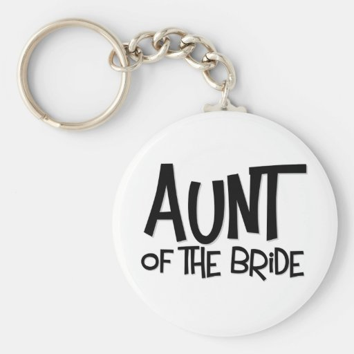 Hipster-Tante der Braut Schlüsselband