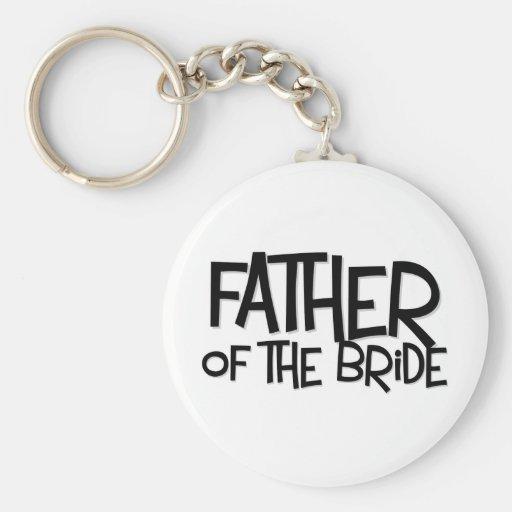 Hipster-Vater-Braut Lite T Schlüsselband