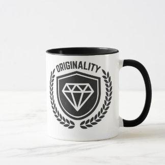 - Hipster-Vintage ursprüngliche Diamant-Tasse - Tasse