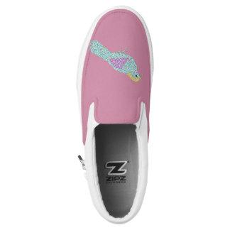 Hipster-Vögel Slip-On Sneaker