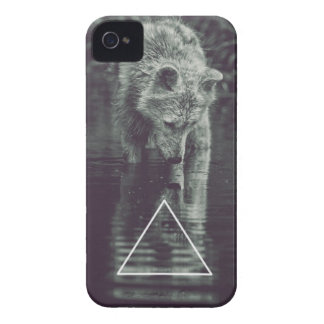 hipster wolf iPhone 4 covers