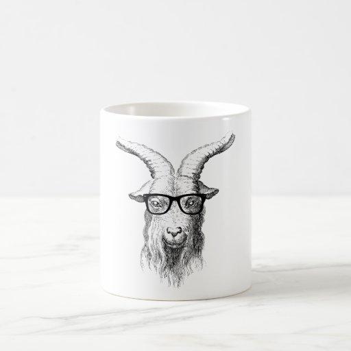Hipster-Ziege Teetasse