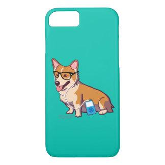 HipsterCorgi iPhone 7 Fall (ohne iPhone 8/7 Hülle