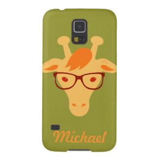 Hipstergiraffe hipsta Tiersamsung umkleiden Samsung Galaxy S5 Hüllen