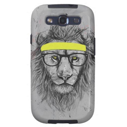 Hipsterlöwe Galaxy S3 Etui