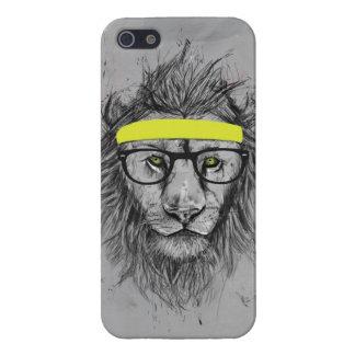 Hipsterlöwe iPhone 5 Case