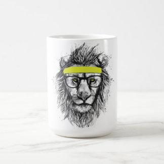 Hipsterlöwe Kaffeetasse