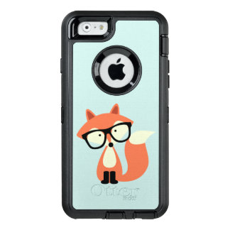 Hipsterroter Fox OtterBox iPhone 6/6s Hülle