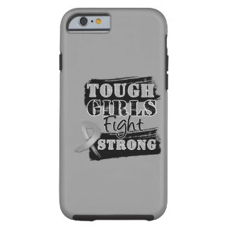 Hirntumor-starke Mädchen kämpfen starkes Tough iPhone 6 Hülle