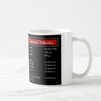 Hiroshi-Statistiken Kaffeetasse