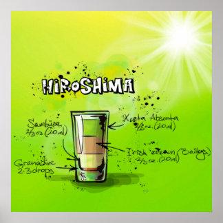 Hiroshima-Cocktail-Plakat Poster