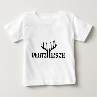 hirsch geweih hirschgeweih junggesellen stag party baby t-shirt