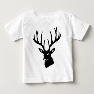 Hirsch Geweih Hirschgeweih Wild Elch Reh Stag Deer Baby T-shirt