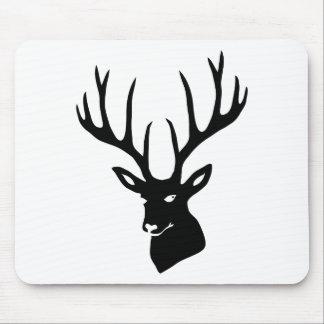 Hirsch Geweih Hirschgeweih Wild Elch Reh Stag Deer Mousepad