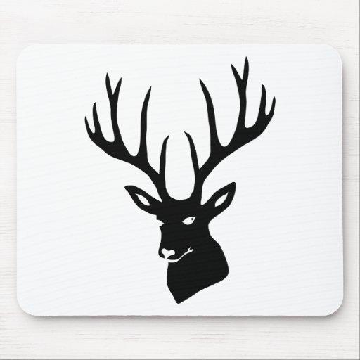 Hirsch Geweih Hirschgeweih Wild Elch Reh Stag Deer Mauspad