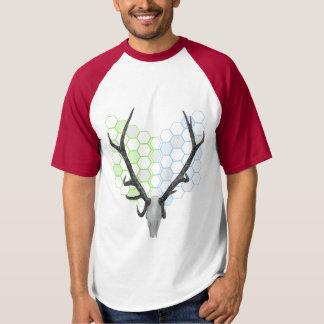 Hirsch-Rotwild-Trophäe-Geweihe T-shirt