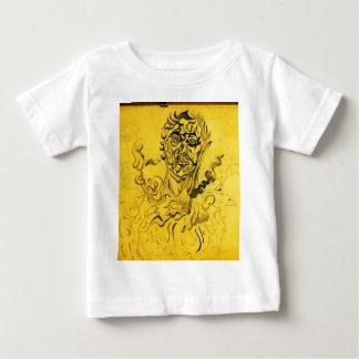Hirschkunstzeichnungen alt und neue 075 baby t-shirt