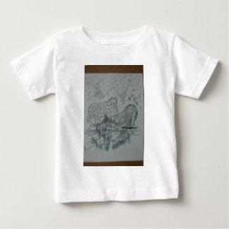 Hirschkunstzeichnungen alt und neue 172 baby t-shirt