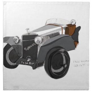 Hispano Suiza Nahaufnahme Serviette
